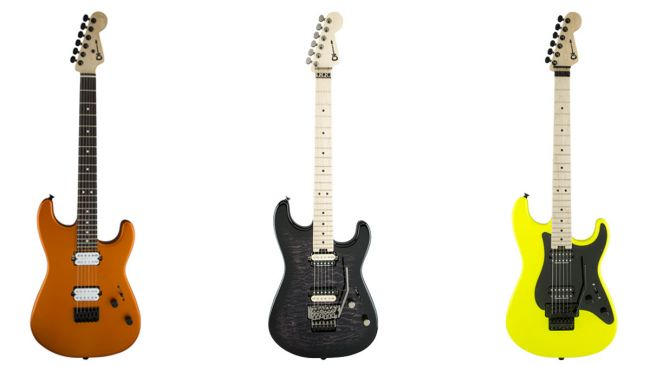 Charvel unveils new Pro Mod and Custom Select Series guitars