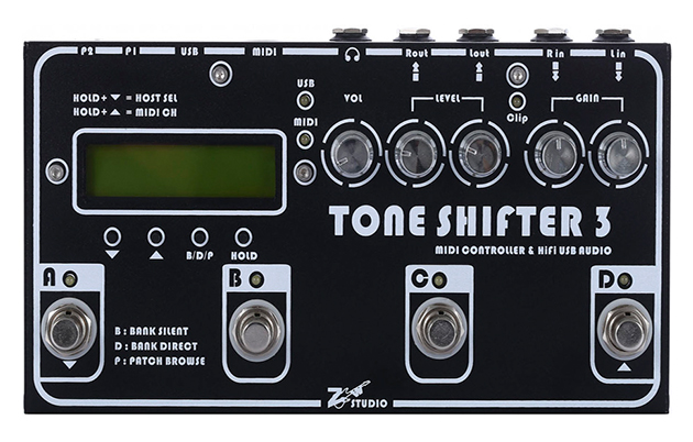 NAMM 2016 -Tone Shifter Announces the Tone Shifter 3 Interface